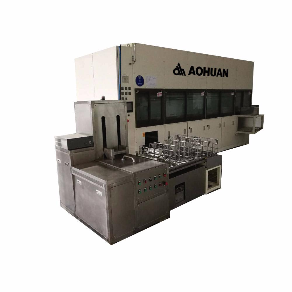 AHTQ-6型水剂碳氢多槽清洗机